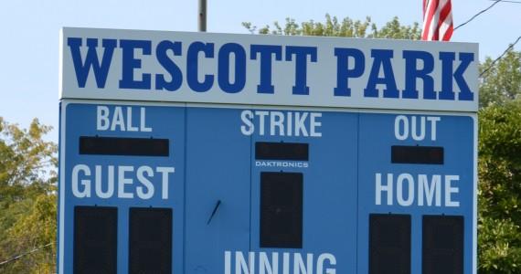 Wescott park scoreboard